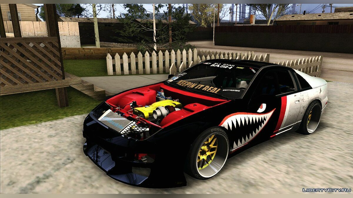 Nissan 300ZX Z32 Fighter Plane для GTA San Andreas