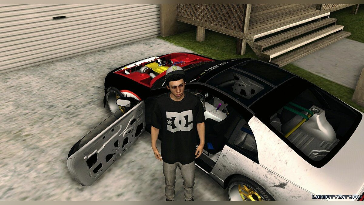 Nissan 300ZX Z32 Fighter Plane для GTA San Andreas - скриншот #2