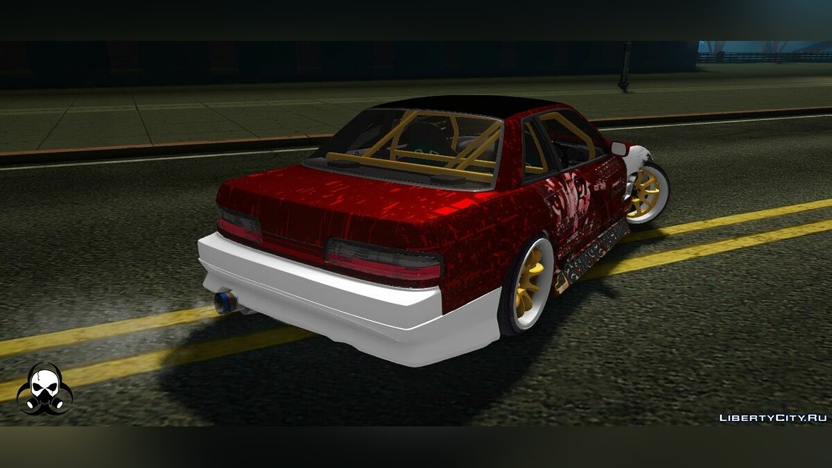 Машина Nissan Nissan S13 1993 - Drift Machine by Hazzard Garage для GTA San Andreas