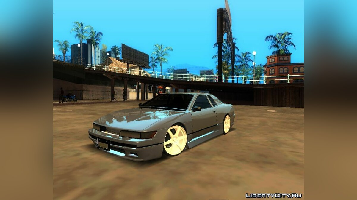 Elegy with Nissan Silvia S13 Front End для GTA San Andreas