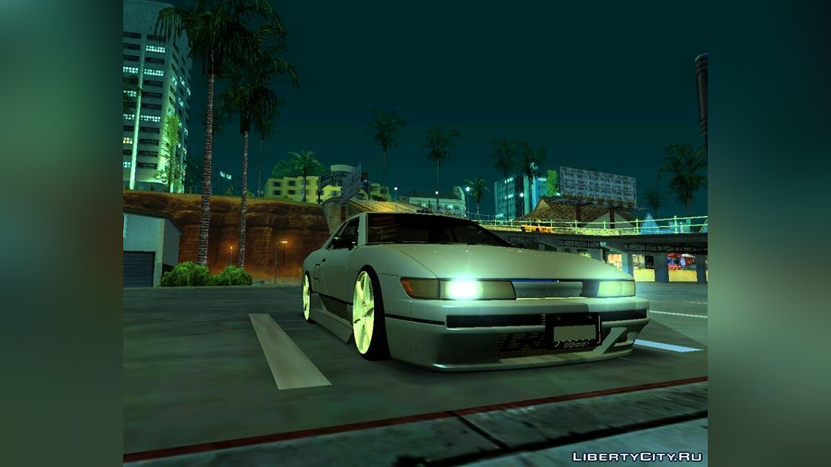 Elegy with Nissan Silvia S13 Front End для GTA San Andreas - скриншот #2