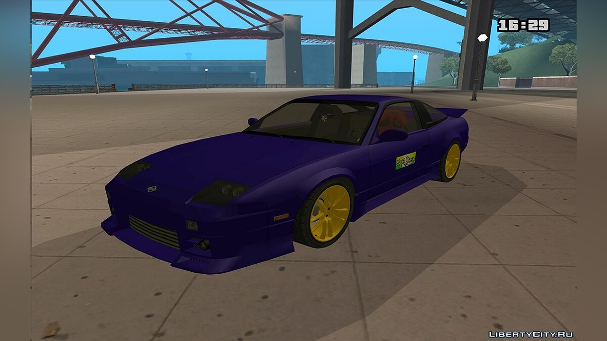 Nissan 240SX X1800 turbo для GTA San Andreas