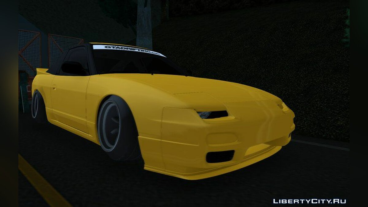 Машина Nissan 1994 Nissan 240sx RPS13 [Low and Broke] для GTA San Andreas