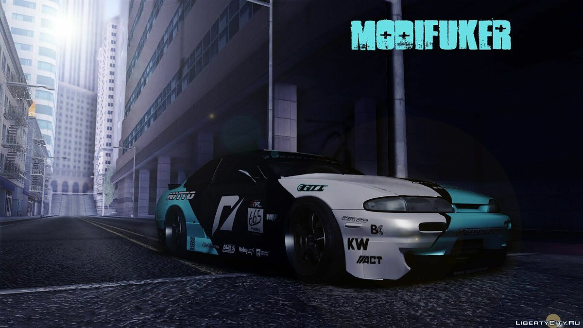 Nissan S14 Matt Powers 2012 для GTA San Andreas - скриншот #3