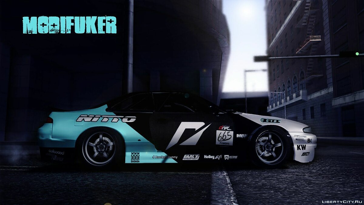 Nissan S14 Matt Powers 2012 для GTA San Andreas