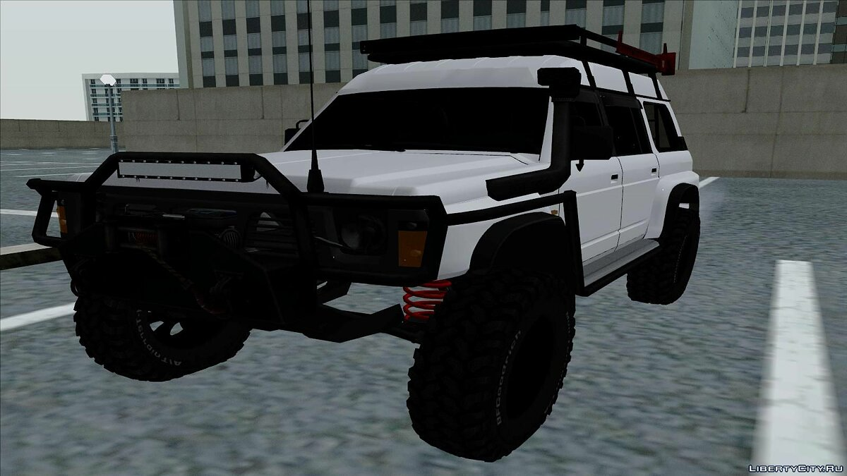Nissan Safari Y60 Off-Road для GTA San Andreas