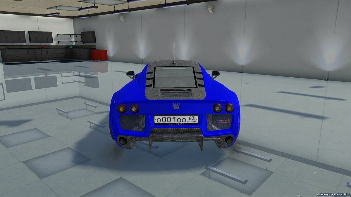Машина Noble Automotive Noble M600 Carbon Sport '17 для GTA San Andreas