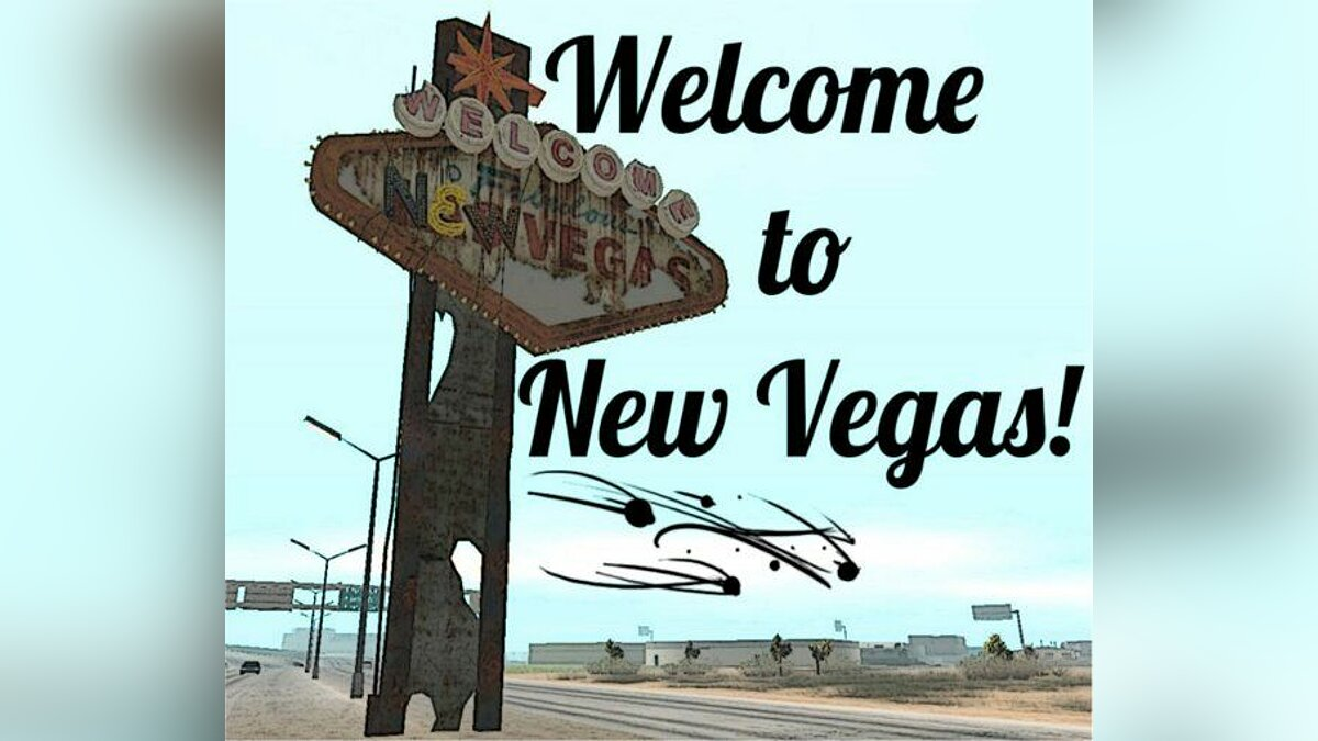 Welcome to New Vegas для GTA San Andreas - Картинка #1