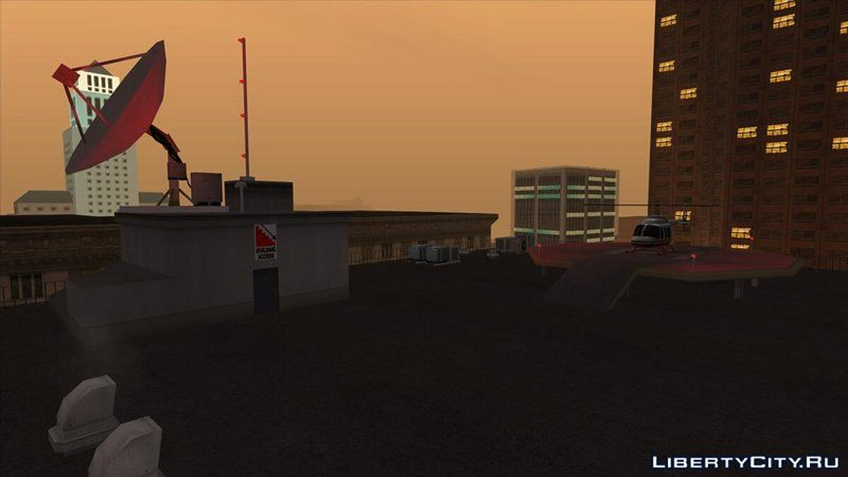 Новый объект LS Property Pack для GTA San Andreas