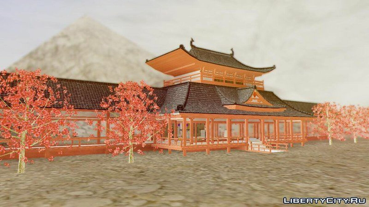 Way of Samurai 4 Wind Palace для GTA San Andreas