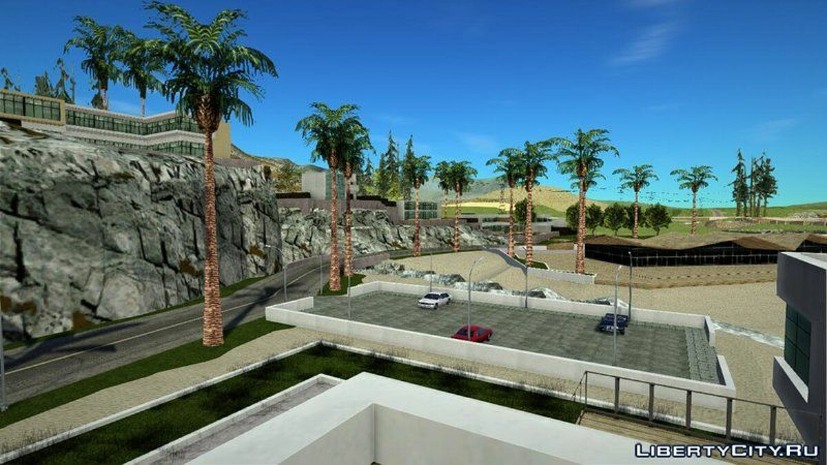 Новый объект Malibu (New Safehouse+Building) для GTA San Andreas