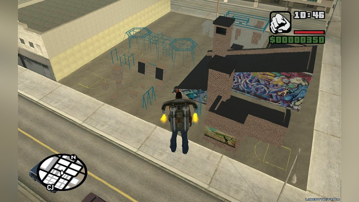 FreeRunning and Parkour Spot для GTA San Andreas - скриншот #2