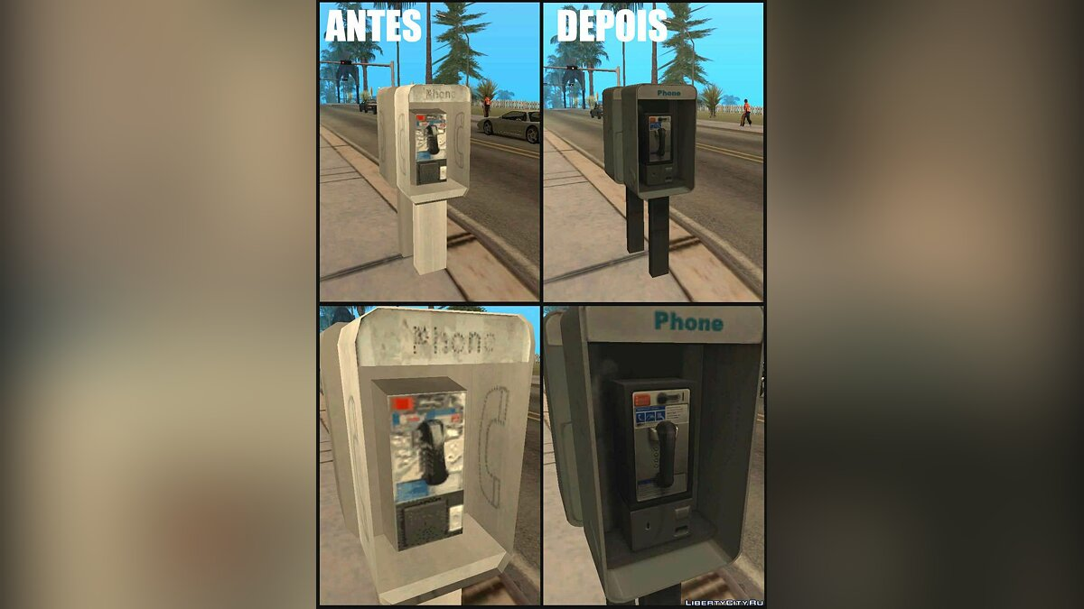 Improved Phone Booth для GTA San Andreas