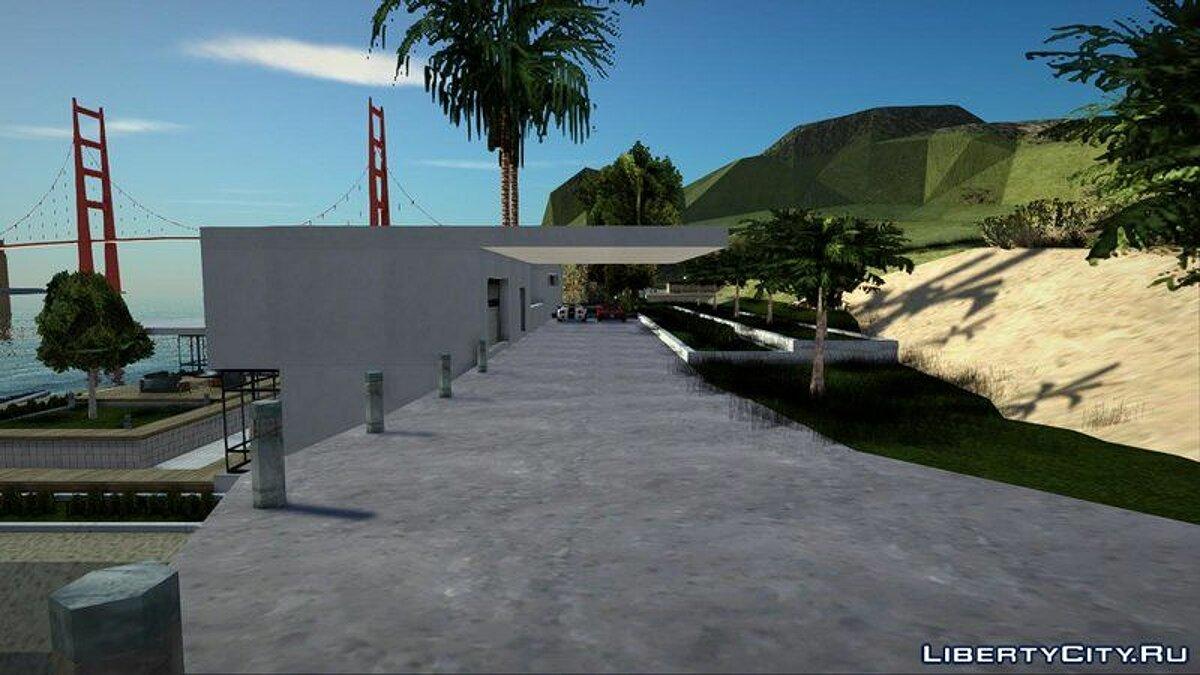 Новый объект Вилла F [Interior/Savedisk/Cars+Boat] для GTA San Andreas