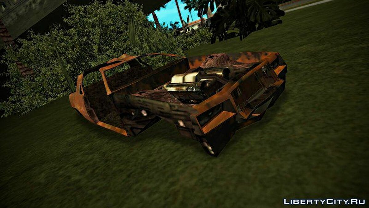 ��овый объект GTA IV Wrecked Cars (with Normal Map) для GTA San Andreas