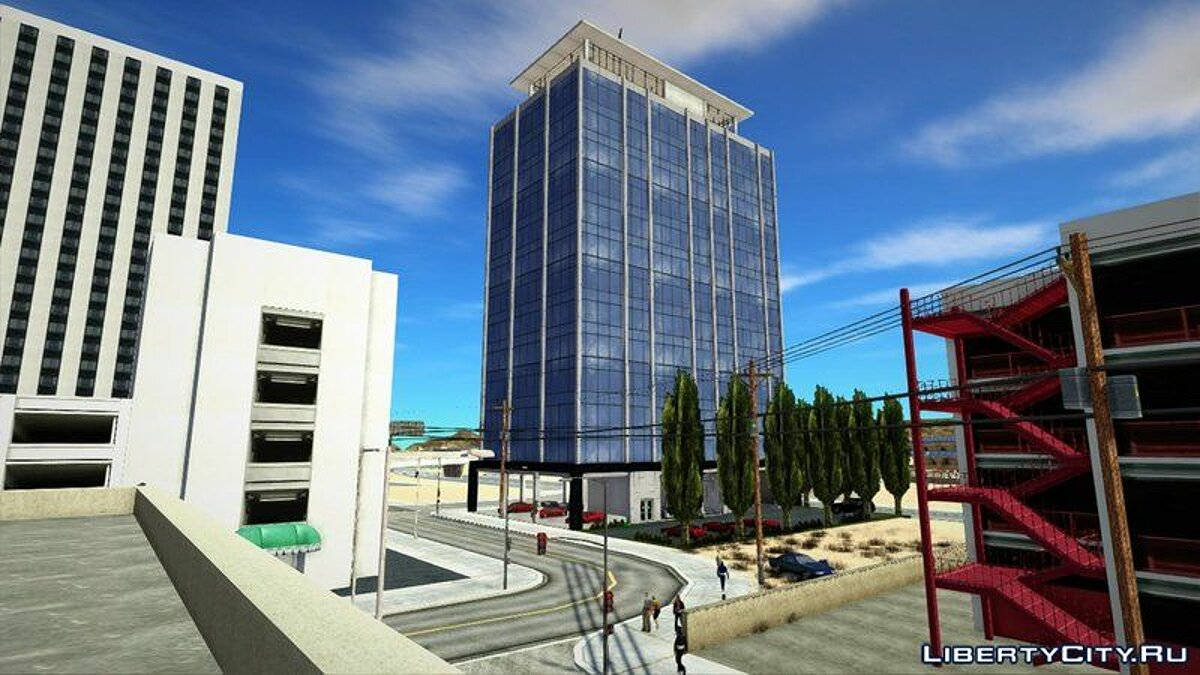 Новый объект WieTower [Safehouse/Selling,Buying cars ability/Property] для GTA San Andreas