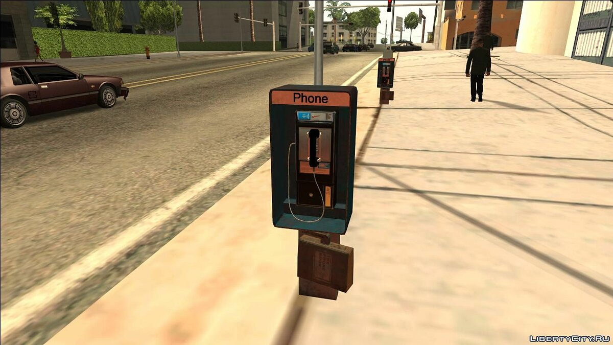 HQ Phone Booth #2 (Normal Map) для GTA San Andreas