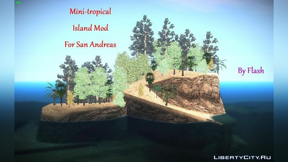 Mini-Tropical Island Mod для GTA San Andreas