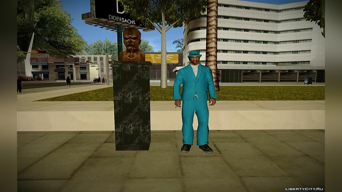 Lenin bust from Hitman 2: Silent Assassin для GTA San Andreas - скриншот #2