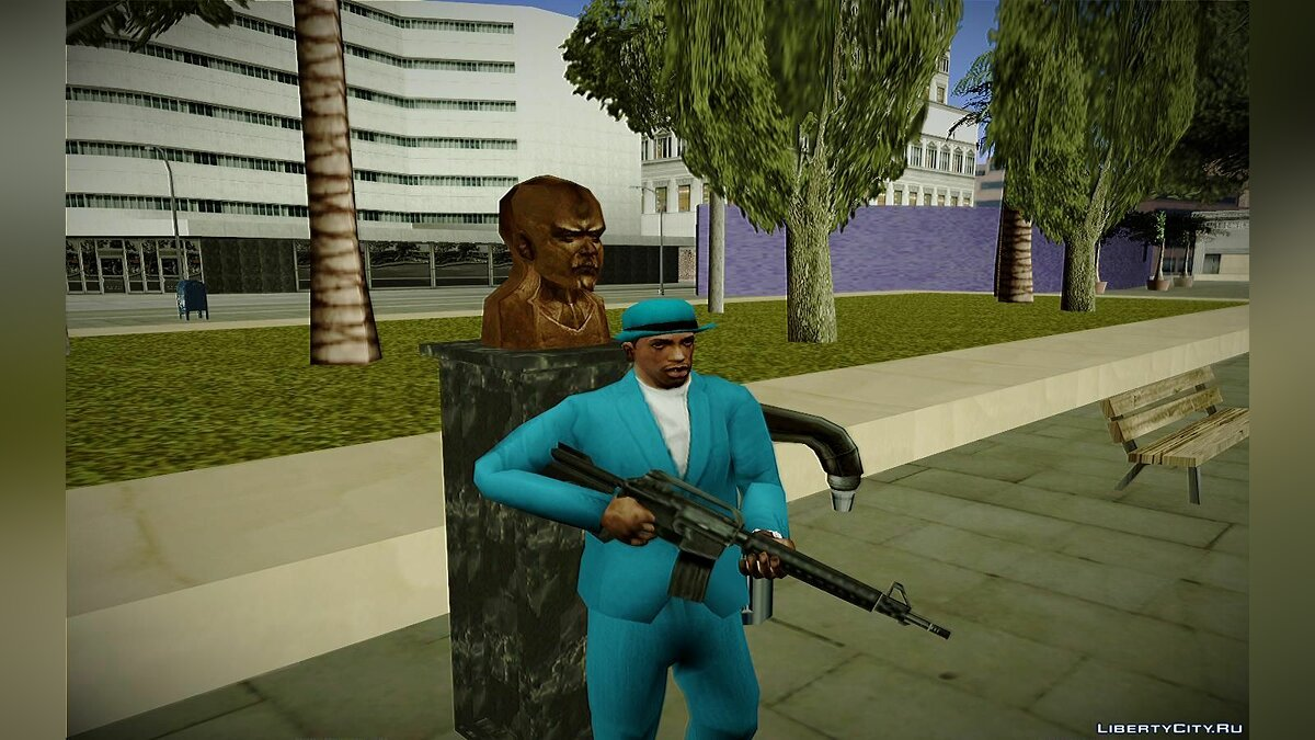 Lenin bust from Hitman 2: Silent Assassin для GTA San Andreas - скриншот #5
