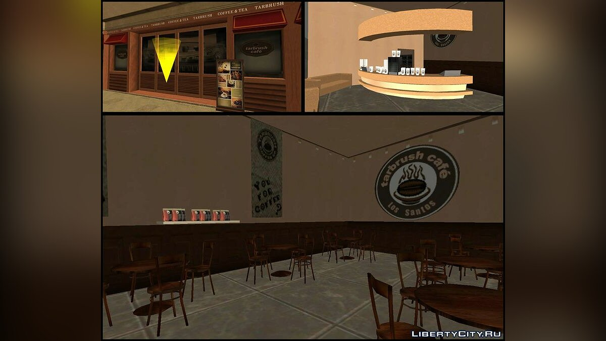 ��овый объект Downtown LS Mall для GTA San Andreas