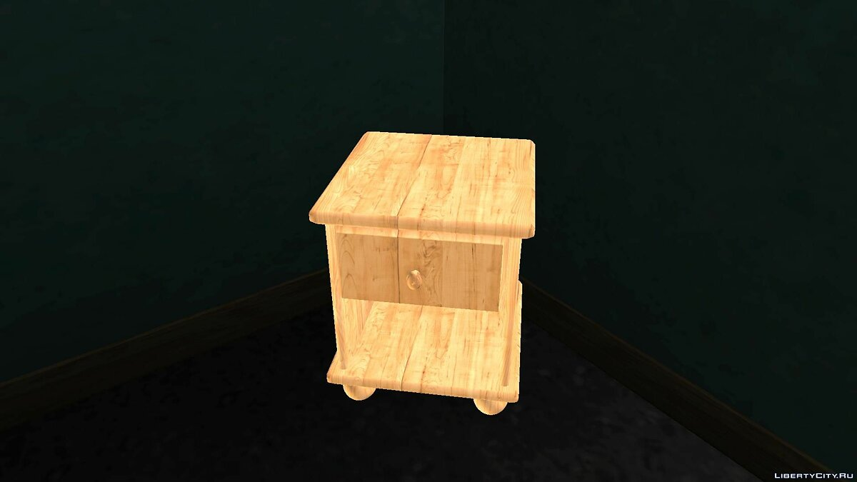 New Bedside Table v1 для GTA San Andreas - скриншот #3