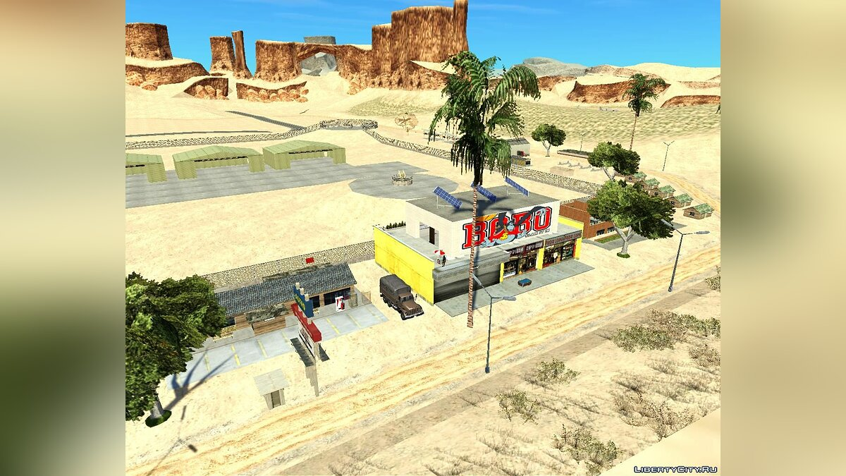 Новый объект Area 69 New Generation для GTA San Andreas