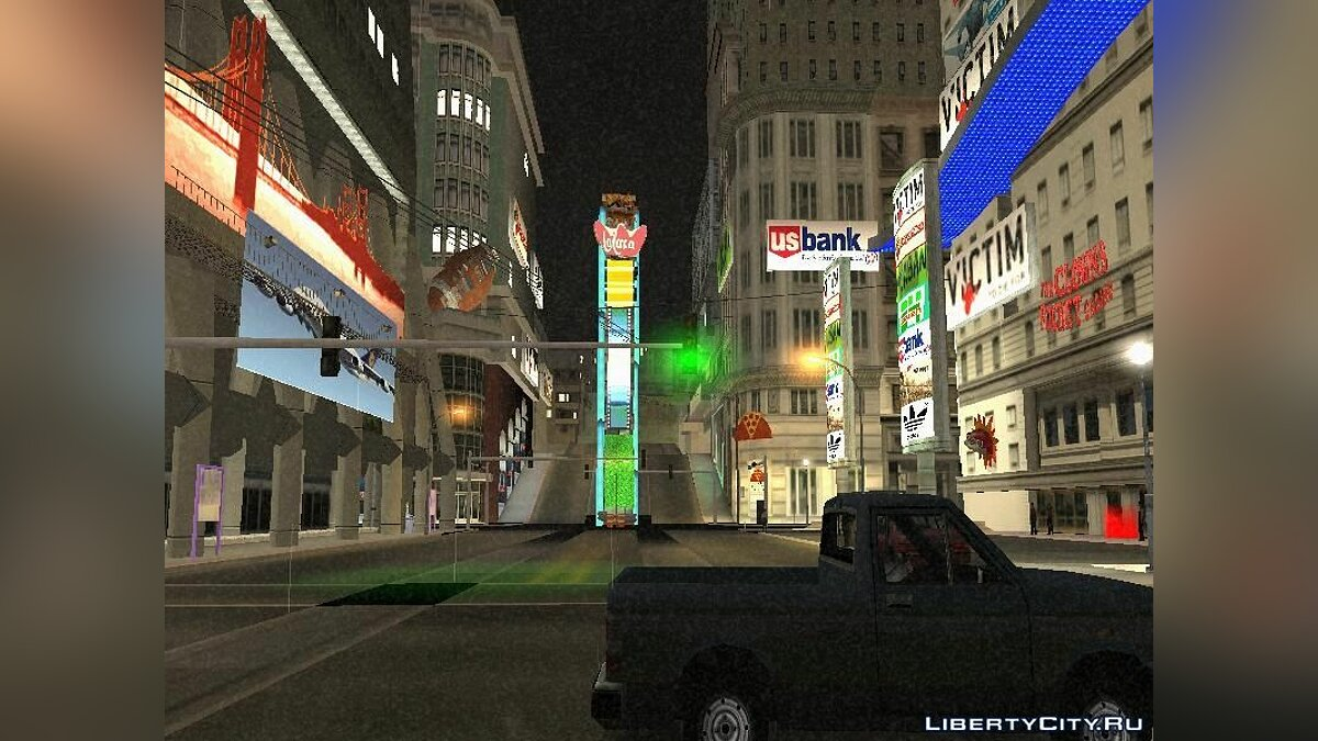 Times Square In SF для GTA San Andreas