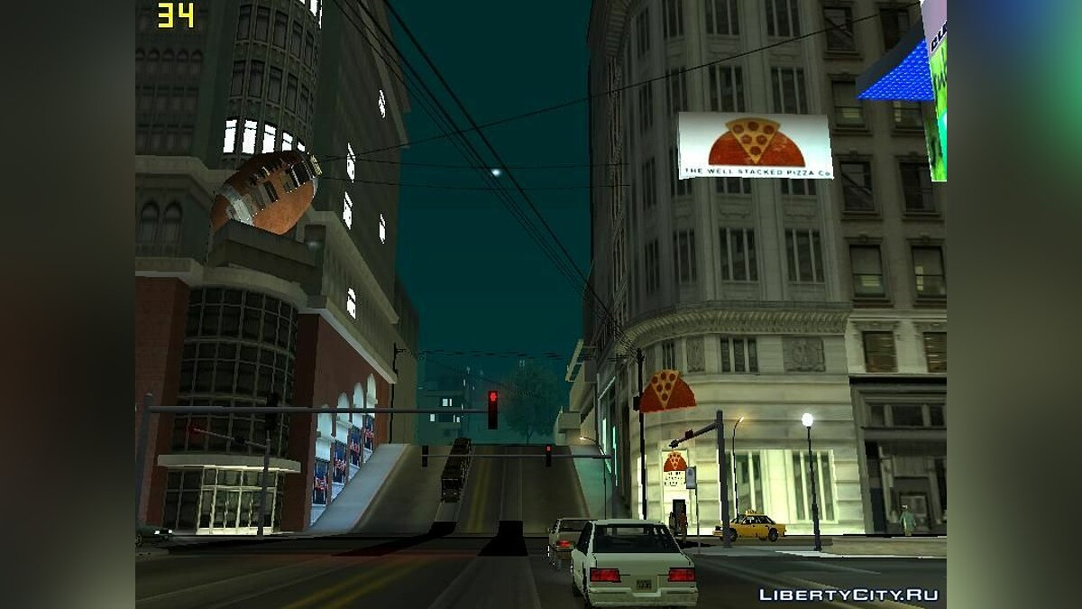 Times Square In SF для GTA San Andreas - скриншот #3