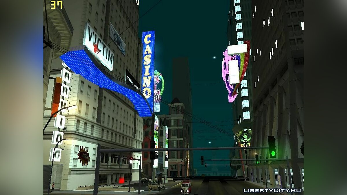 Times Square In SF для GTA San Andreas - скриншот #2