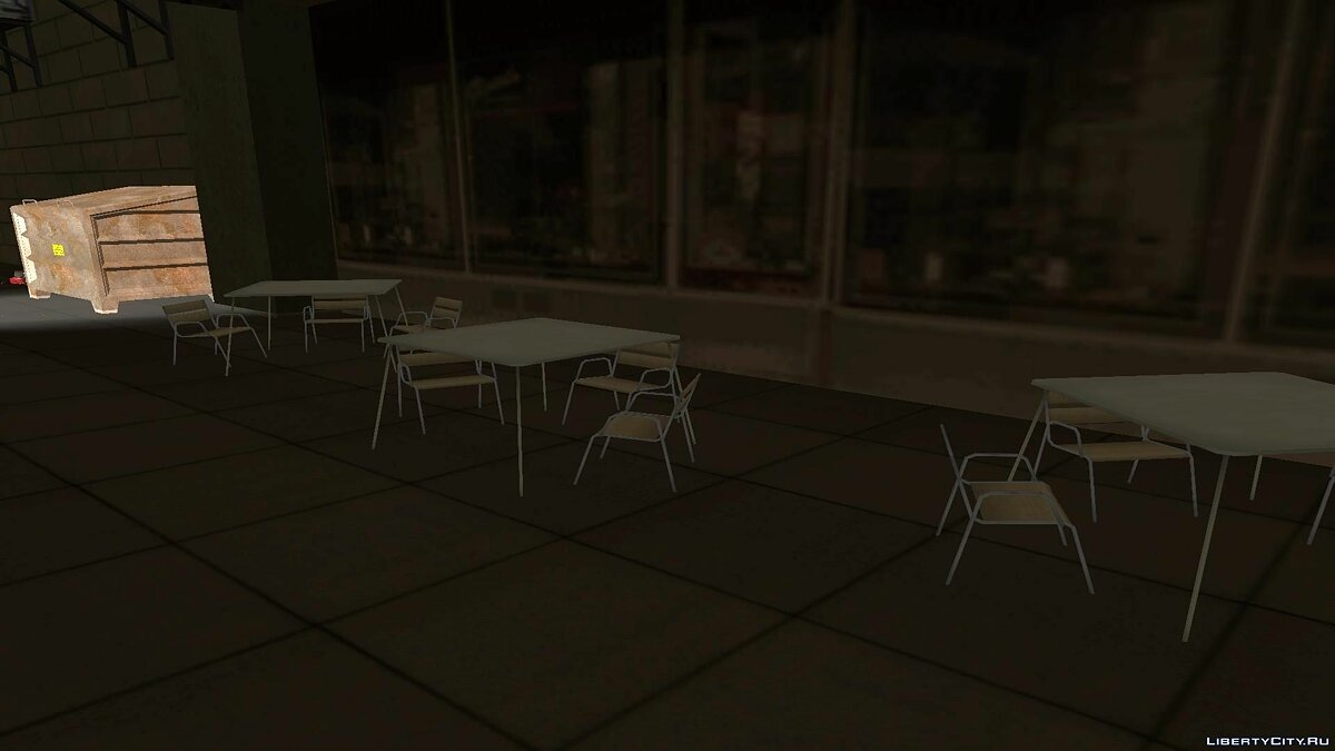 The outdoor cafe для GTA San Andreas - скриншот #6