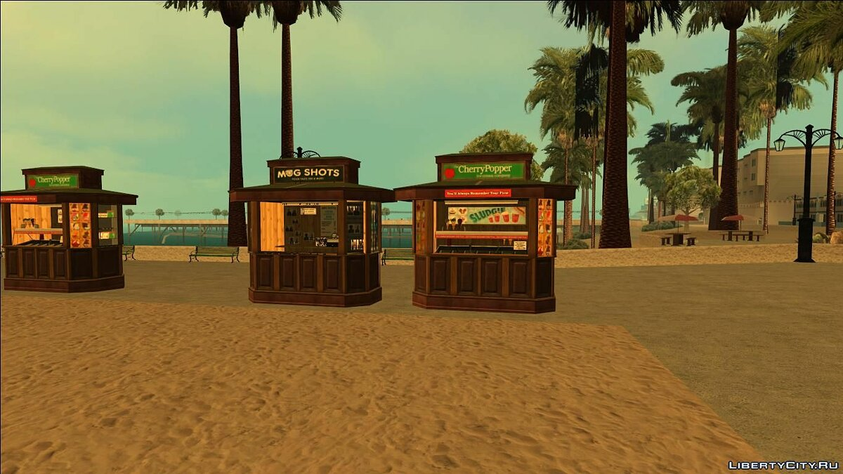 Kiosks from GTA V (With Normal Map) для GTA San Andreas - скриншот #2