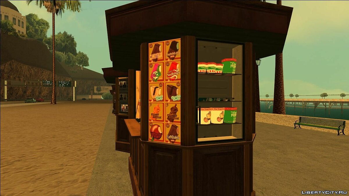 Kiosks from GTA V (With Normal Map) для GTA San Andreas - скриншот #4