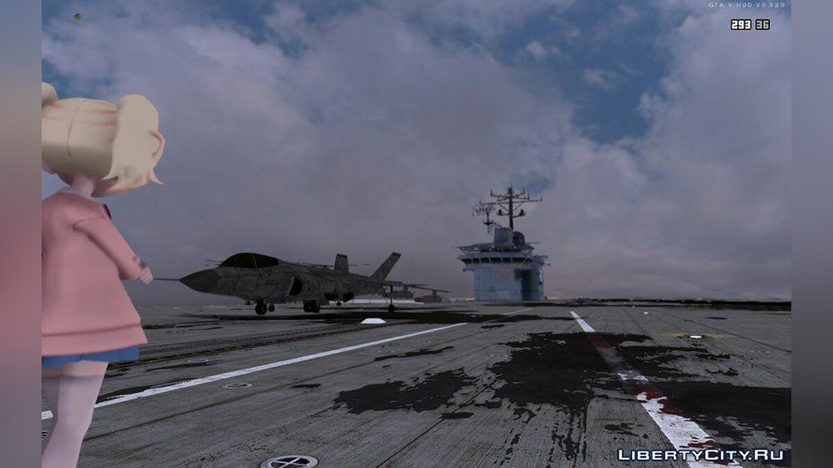 ��овый объект GTA V Aircraft Carrier для GTA San Andreas