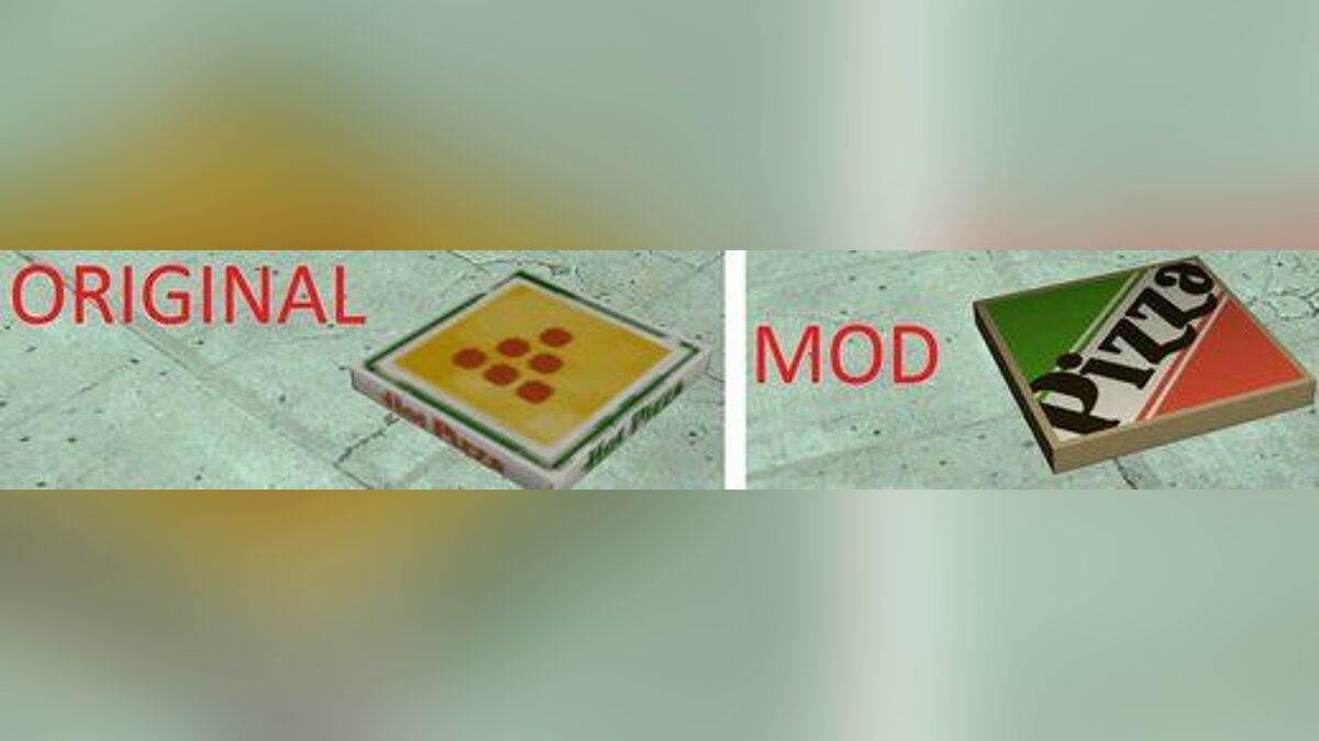 Новый объект HD Prop Models Collection для GTA San Andreas