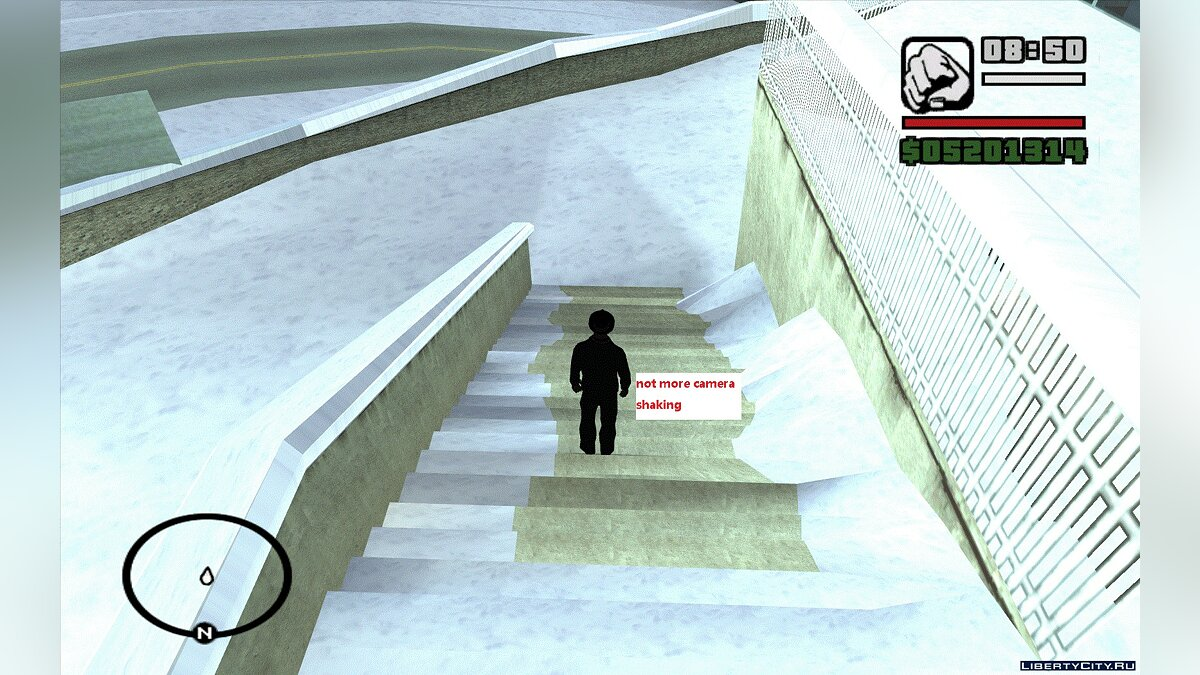 Новый объект A tunnel connecting the interior of St. Mark's Bistro and the streets of Liberty City для GTA San Andreas