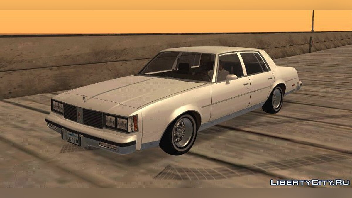 1985 Oldsmobile Cutlass V2 для GTA San Andreas