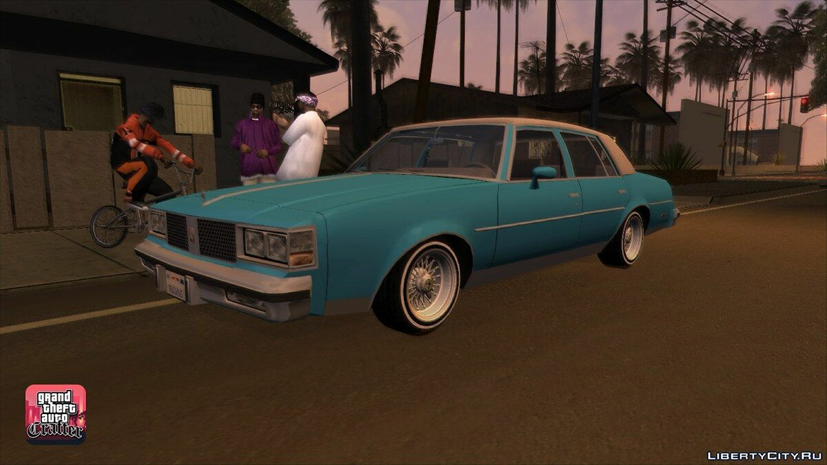1984 Oldsmobile Cutlass Supreme для GTA San Andreas