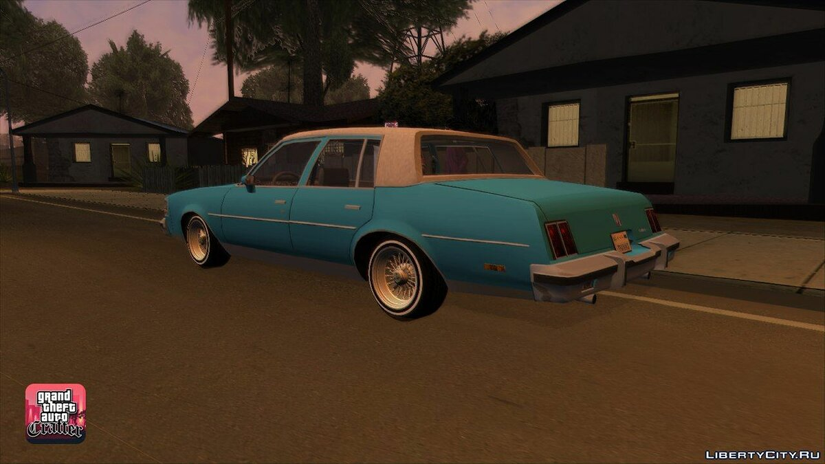 1984 Oldsmobile Cutlass Supreme для GTA San Andreas - скриншот #2