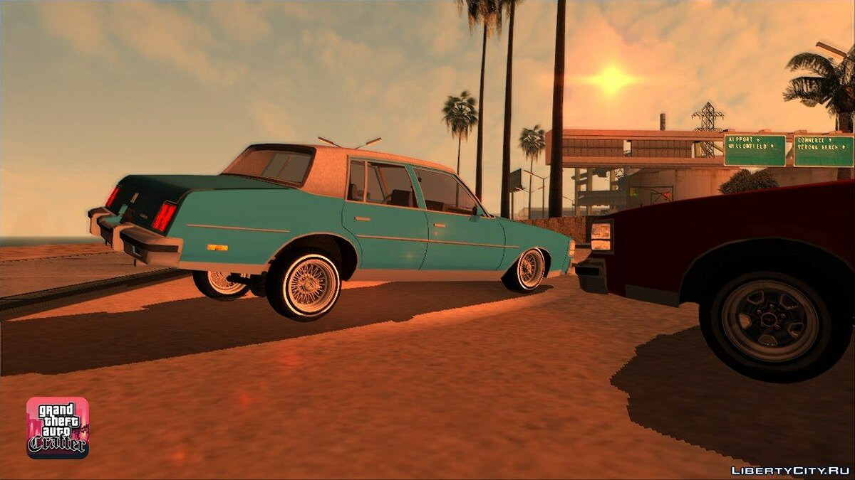 1984 Oldsmobile Cutlass Supreme для GTA San Andreas - скриншот #4