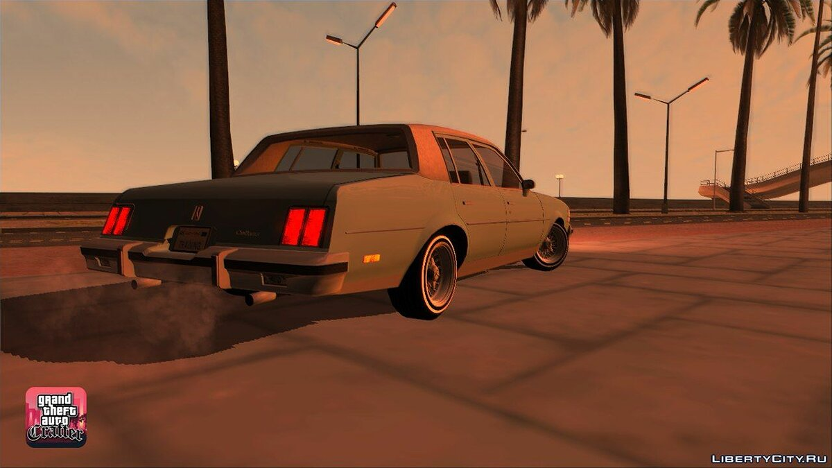 1984 Oldsmobile Cutlass Supreme для GTA San Andreas - скриншот #6