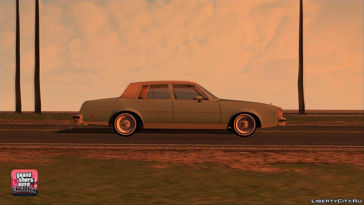 1984 Oldsmobile Cutlass Supreme для GTA San Andreas - скриншот #7