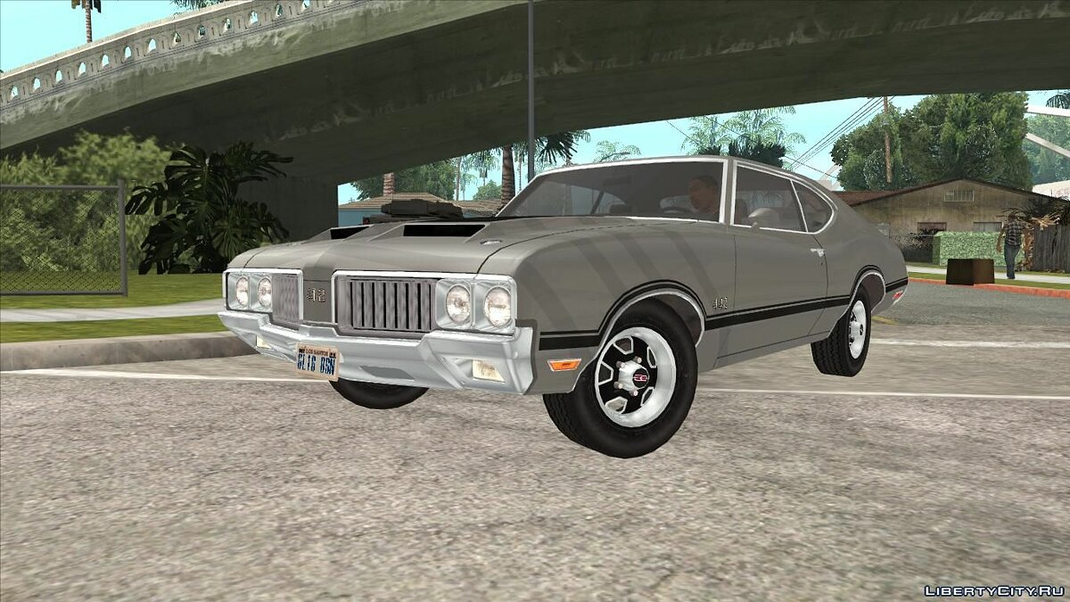 Машина Oldsmobile Oldsmobile 442 Cutlass 1970 для GTA San Andreas