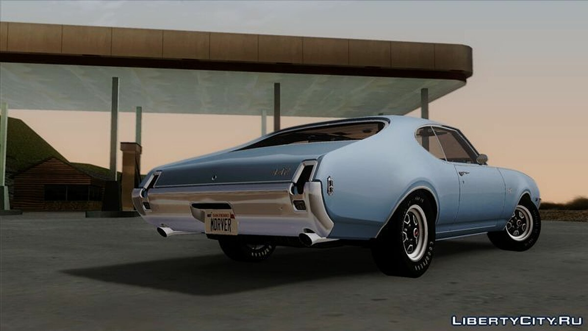 ��ашина Oldsmobile Oldsmobile 442 Holiday Coupe (4487) 1969 для GTA San Andreas