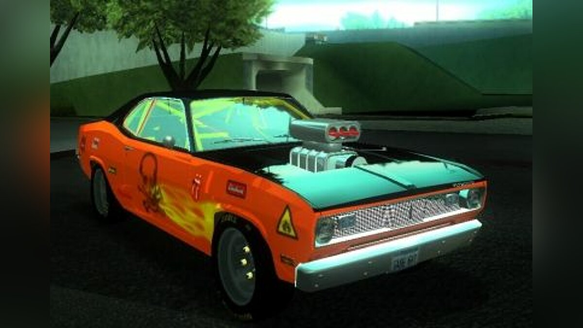 Plymouth Duster для GTA San Andreas