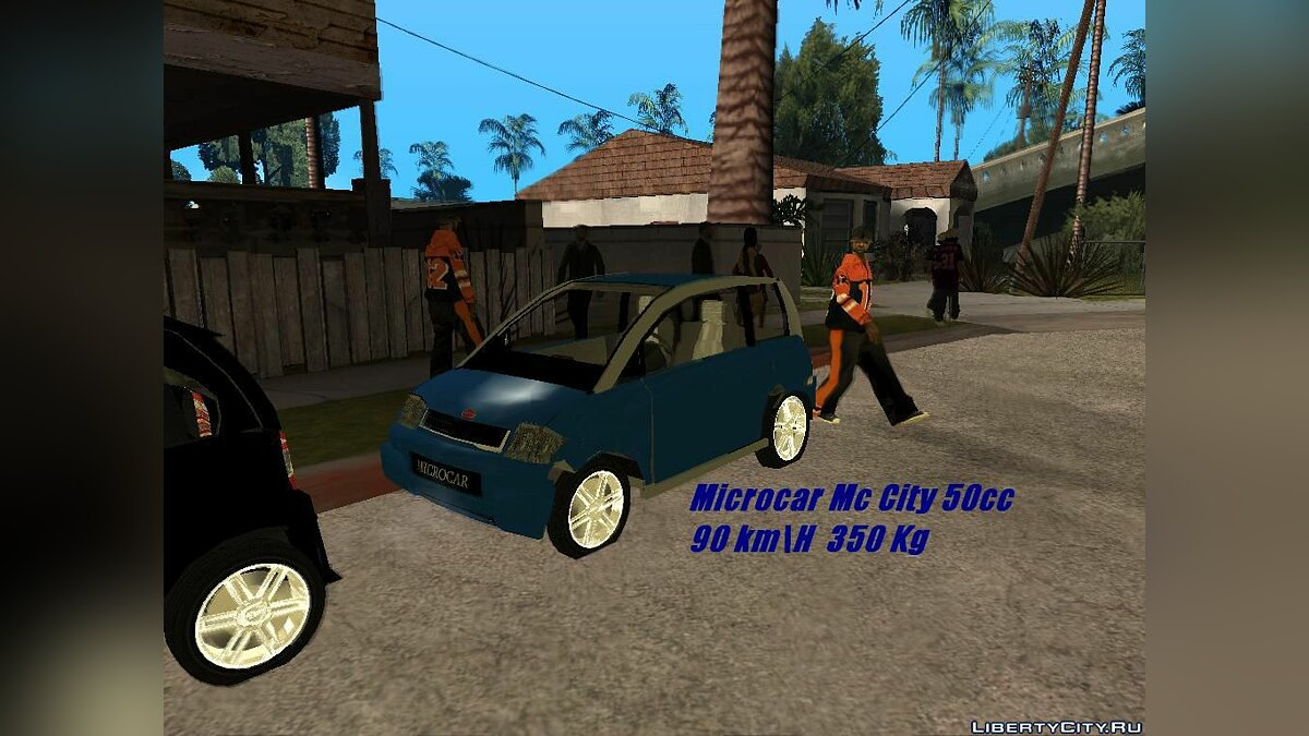 Microcar MC City 50cc для GTA San Andreas - Картинка #1