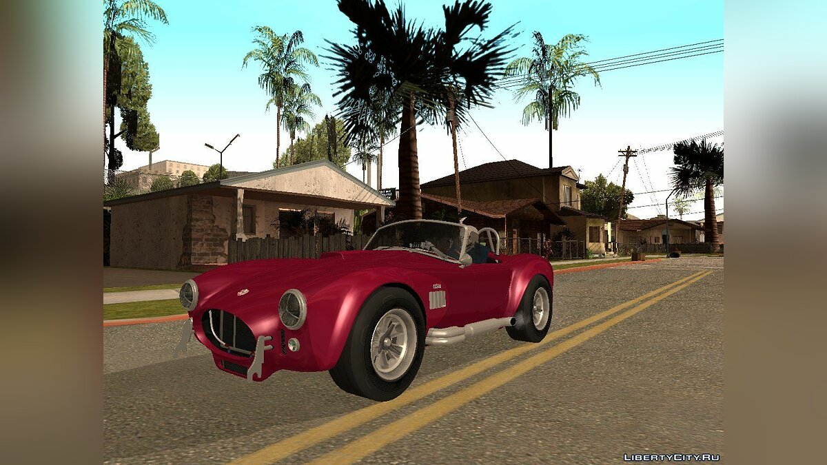 Shelby Cobra 427 TT Black Revel для GTA San Andreas
