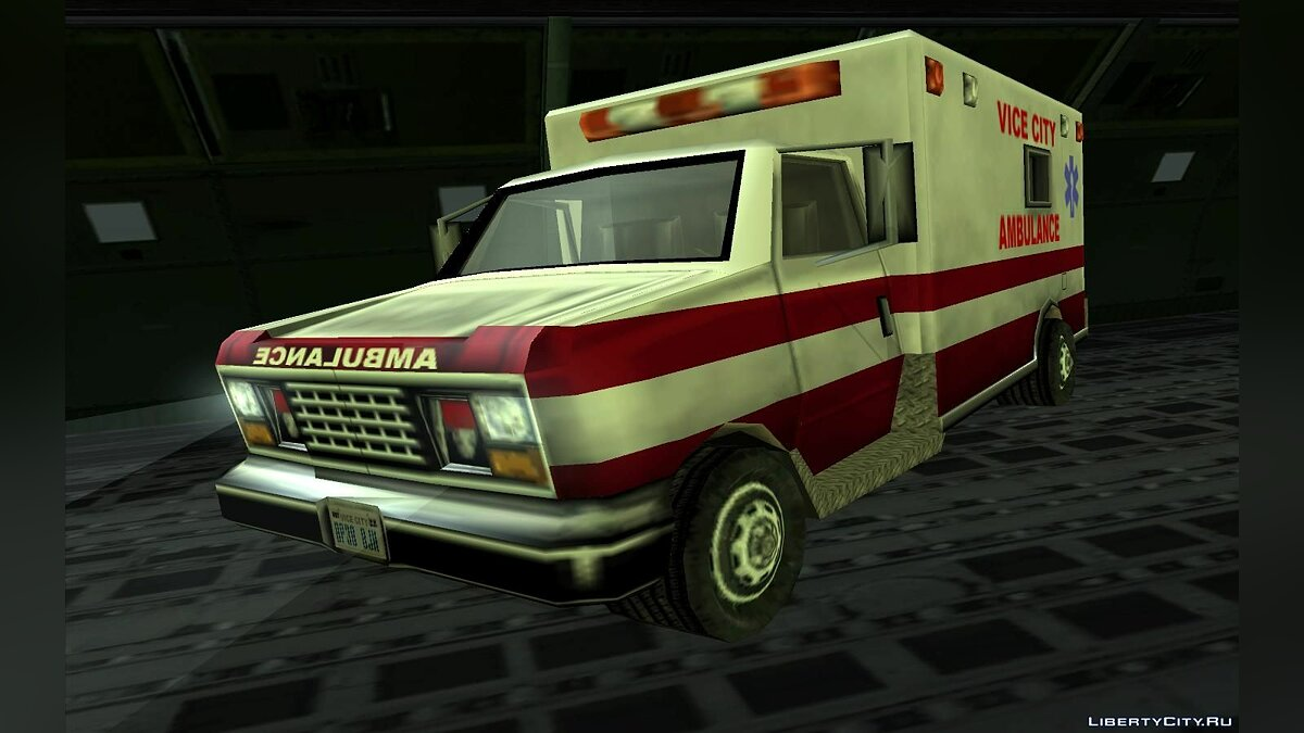 Ambulance from Vice City для GTA San Andreas - скриншот #3