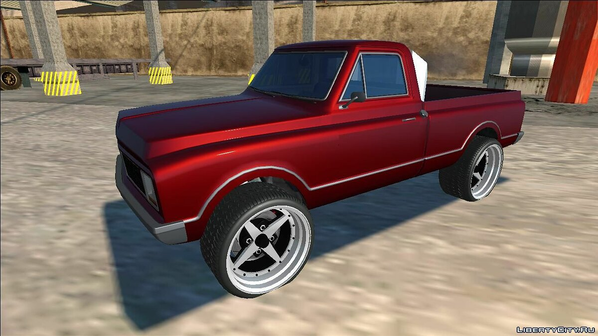 Машина GTA 5 Declasse Yosemite Lifted для GTA San Andreas