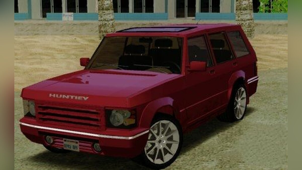 Машина Huntley Freelander для GTA San Andreas